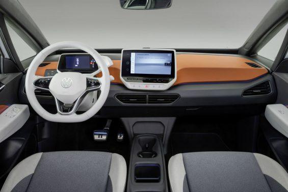 volkswagen id3 eletrico interior