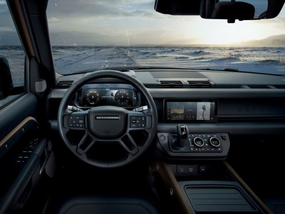 painel novo land rover defender