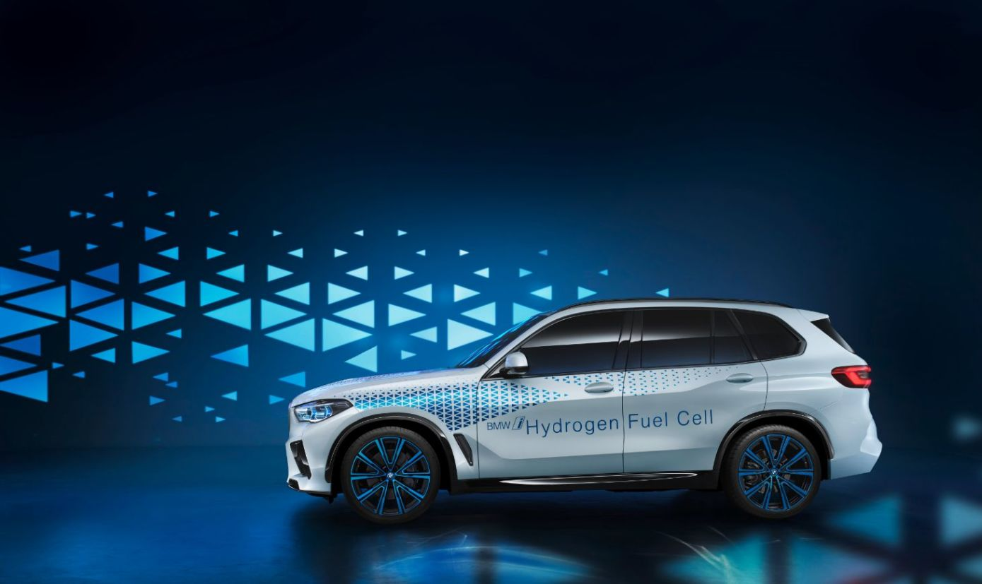 lateral bmw i hydrogen next Carro movido a hidrogênio
