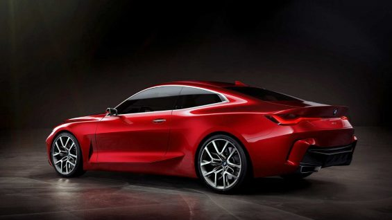 lateral bmw cupe concept