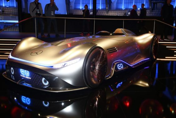 mercedes benz vision eq silver arrow 2 frankfurt 2019