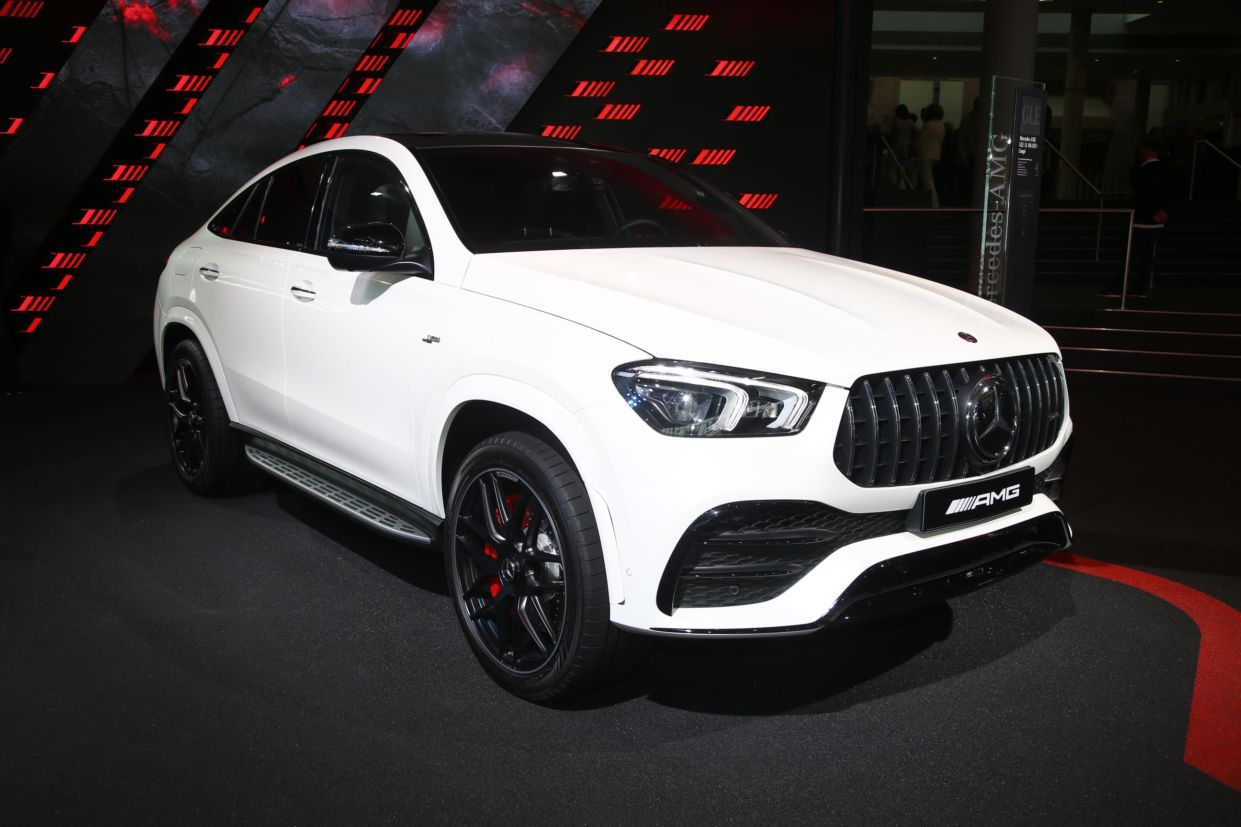 mercedes amg gle 53 4matic coupe frankfurt 2019