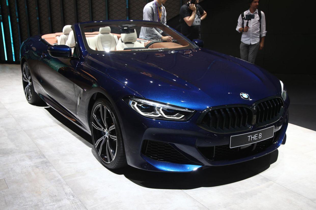 bmw 8 series cabriolet 2 frankfurt 2019