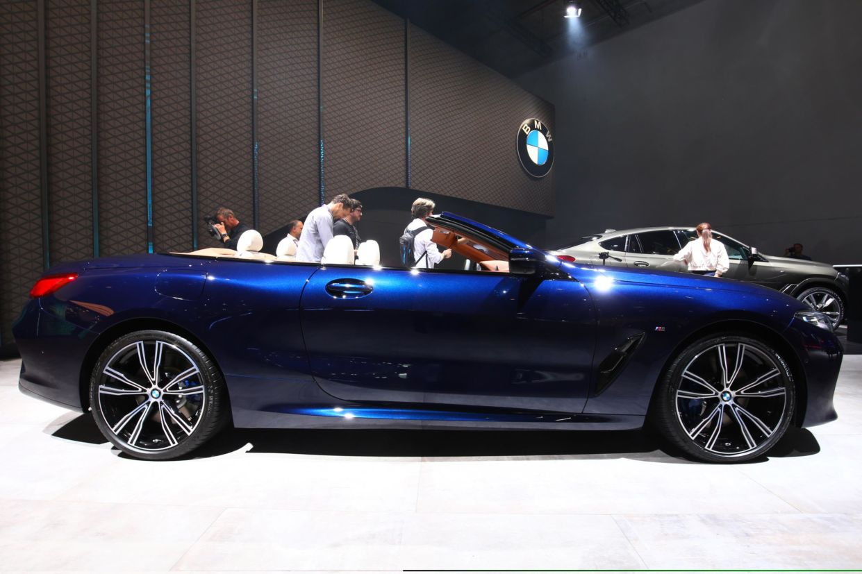 bmw 8 series cabriolet frankfurt 2019