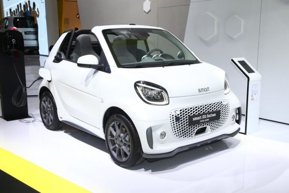 smart eq forfour frankfurt 2019
