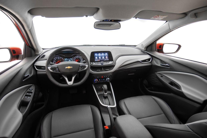 novo onix 2020 interior painel