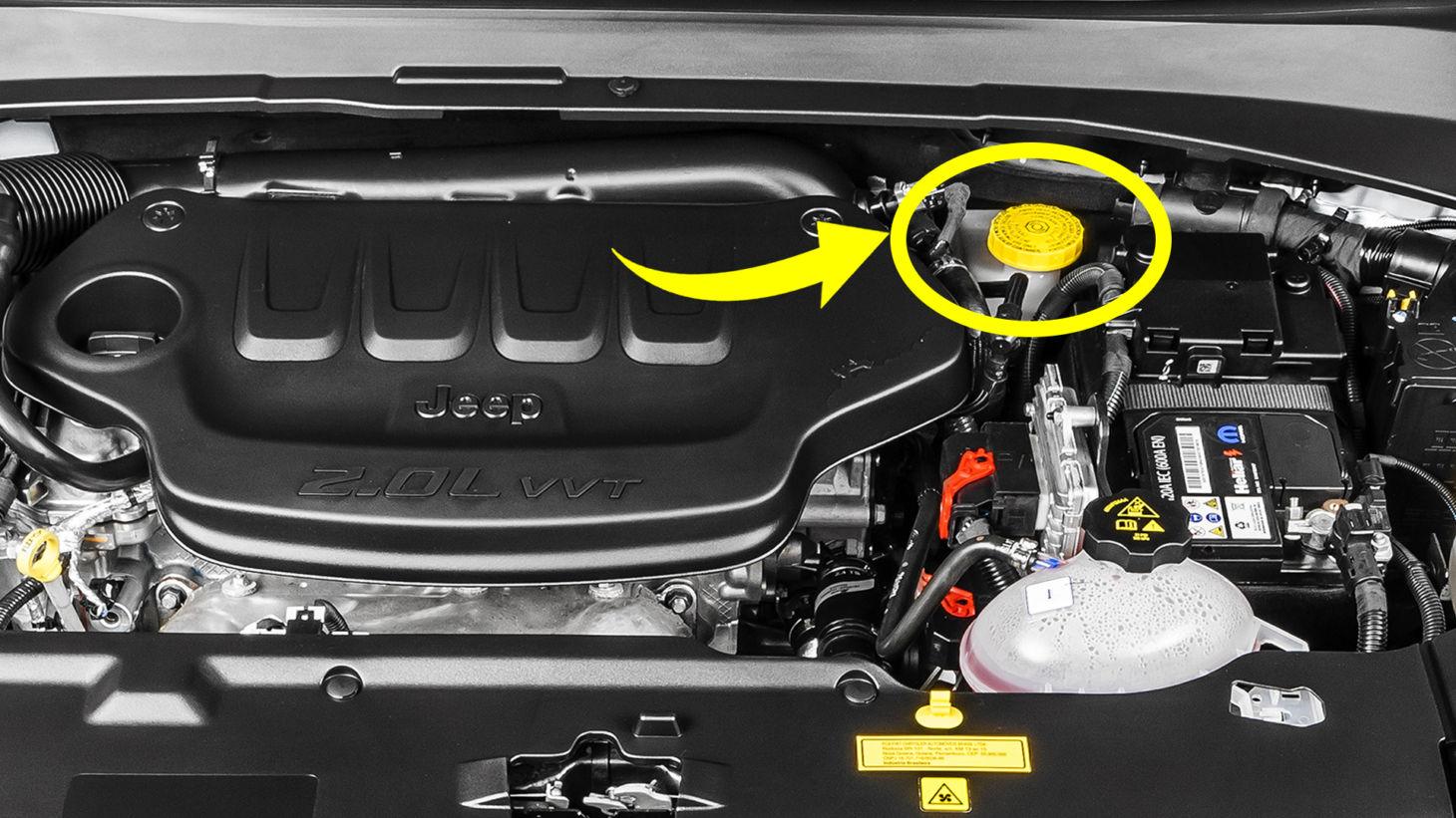 fluido de freio motor compass