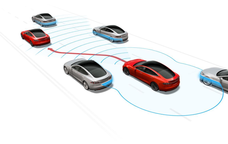 tesla autopilot carro autonomo