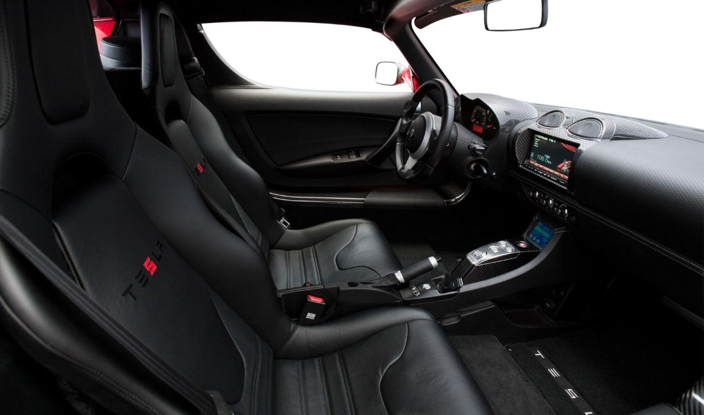 tesla roadster 2008 interior
