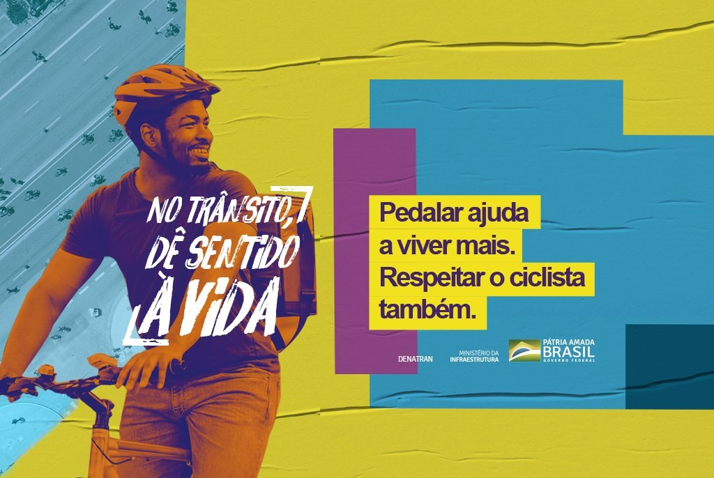 ciclista semana nacional do transito