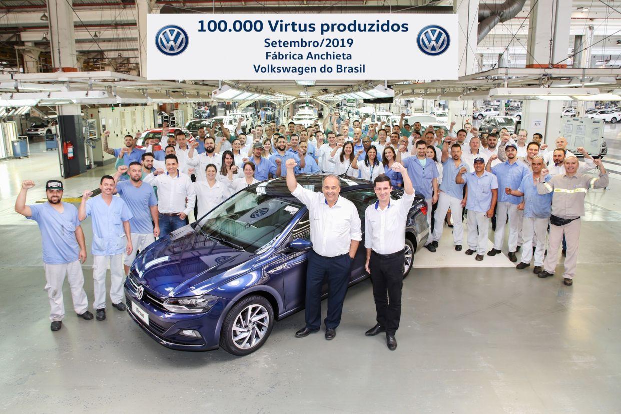 volkswagen virtus fabrica