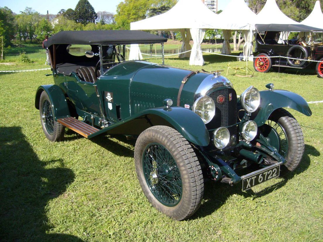 autoclasica bentley 3l speed model 1923