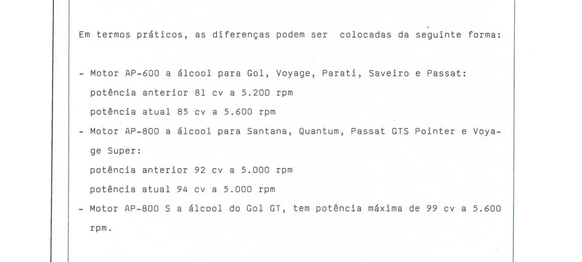 release da volkswagen motor ap setembro de 1985 ap 600 ap 800 ap 800s