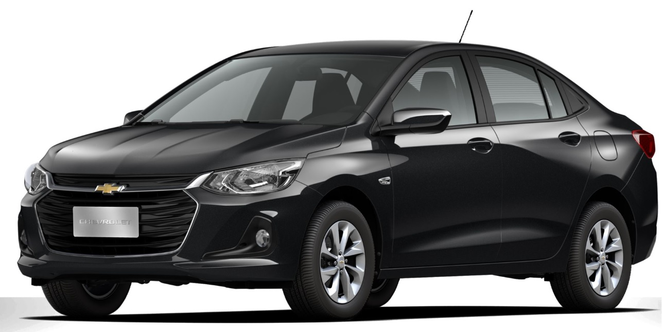 carros mais vendidos: onix plus LT