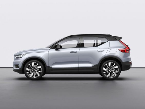 volvo xc40 eletrco lateral