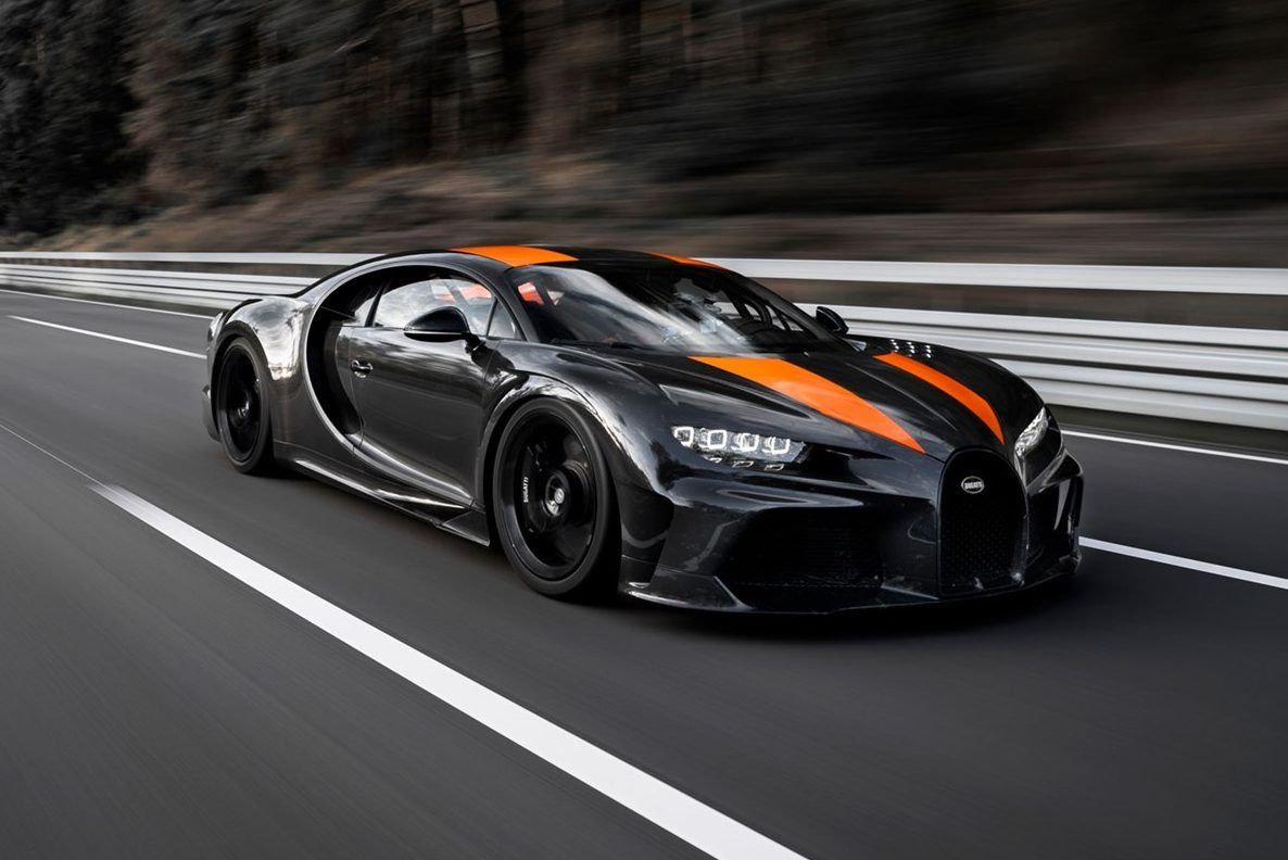 bugatti chiron Carro mais veloz do mundo
