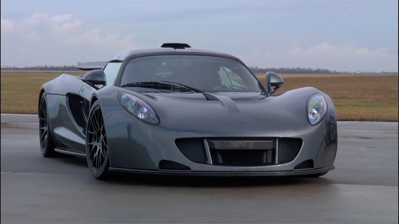 hennessey venom gt 3 Carro mais veloz do mundo