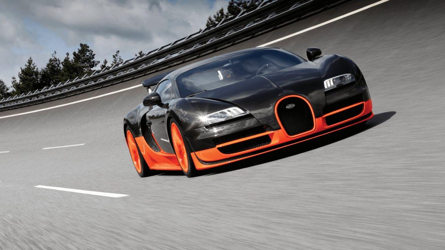 bugatti veyron super sport 3 Carro mais veloz do mundo