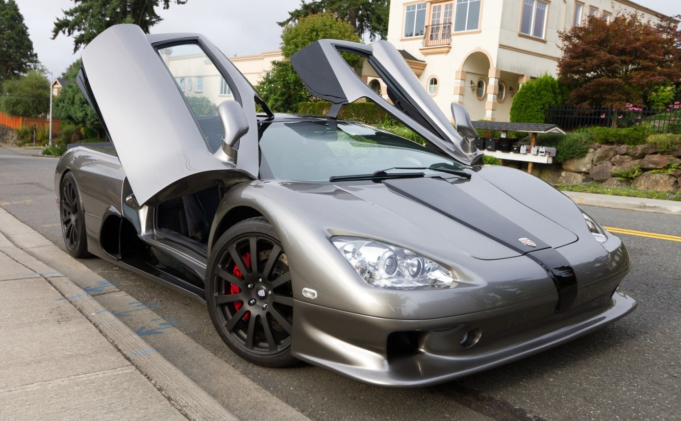 ssc ultimate aero twin turbo Carro mais veloz do mundo
