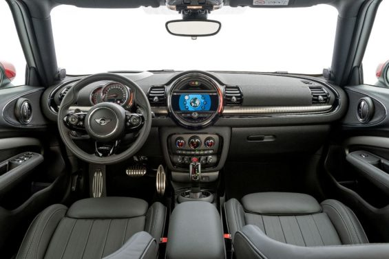 novo mini john cooper works countryman interior