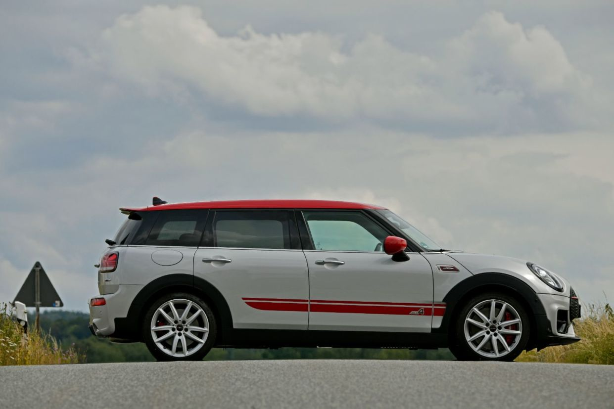 novo mini john cooper works countryman lateral