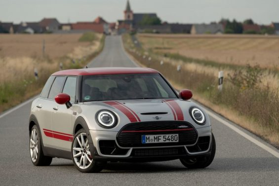 novo mini john cooper works countryman frente