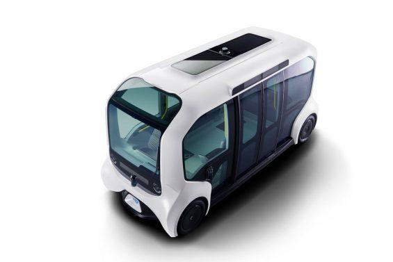 onibus autonomo toyota e palette 2