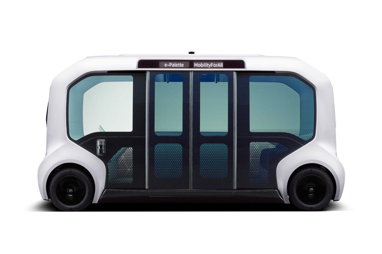 onibus autonomo toyota e palette 5