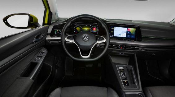 novo golf 8 oitava geracao volkswagen interior 2