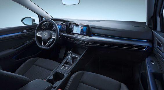 novo golf 8 oitava geracao volkswagen interior 4
