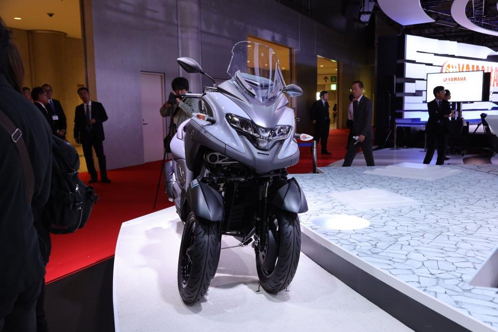 yamaha-tricity-300-1 Para os fãs de Motos, elas foram a grande atração no salão de Tóquio, saiba mais...