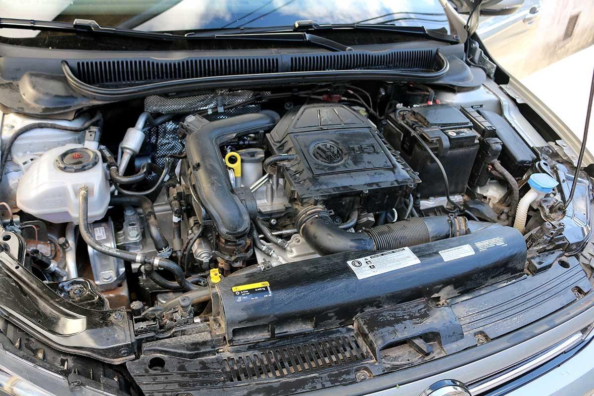 volkswagen virtus motor tsi