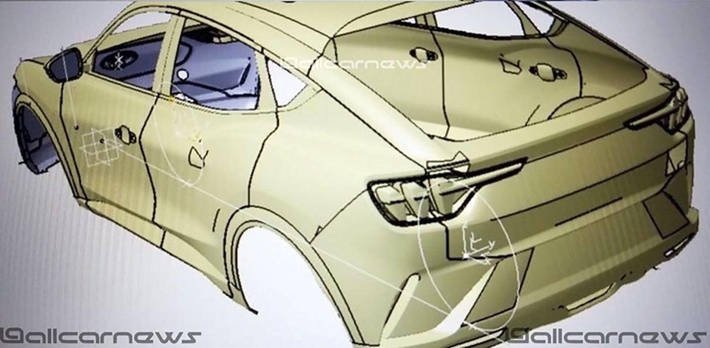 Americana divulgou um teaser do SUV do Mustang elétrico e confirmou revelação antes do Salão de L.A., enquanto imagens do projeto surgem na internet.
