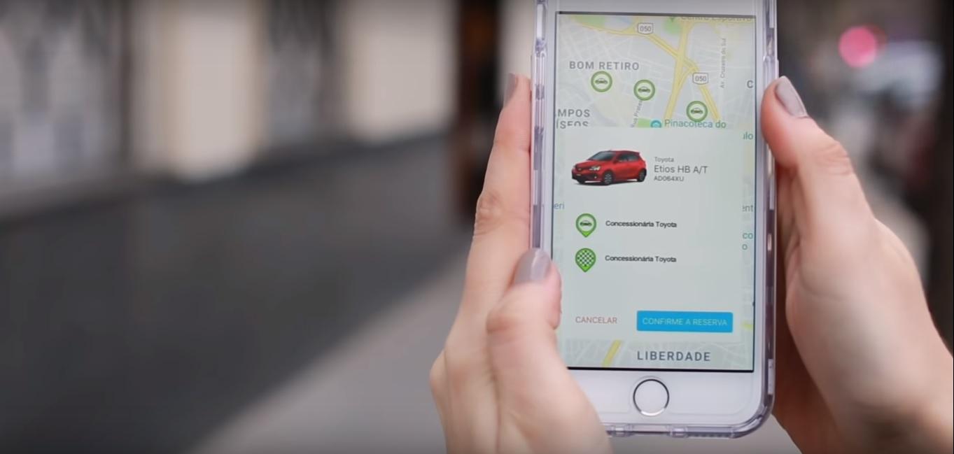 toyota mobility service mobilidade urbana carros brasil