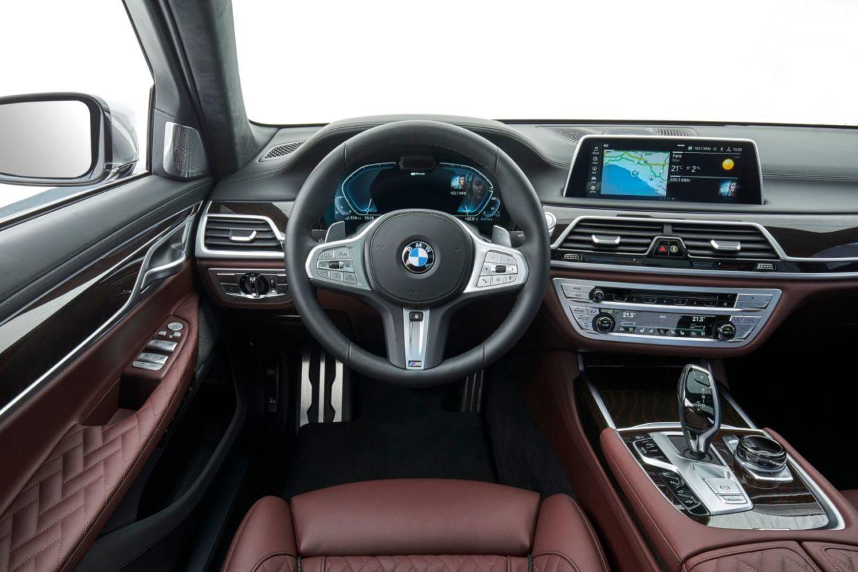 interior bmw serie 7 hibrido