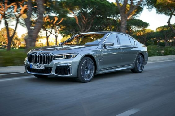 lateral bmw serie 7 hibrido