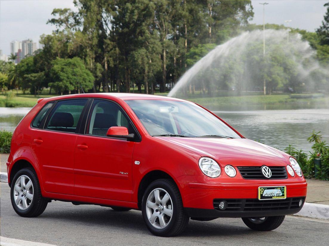 volkswagen polo next vermelho de frente carros até R$ 20 mil