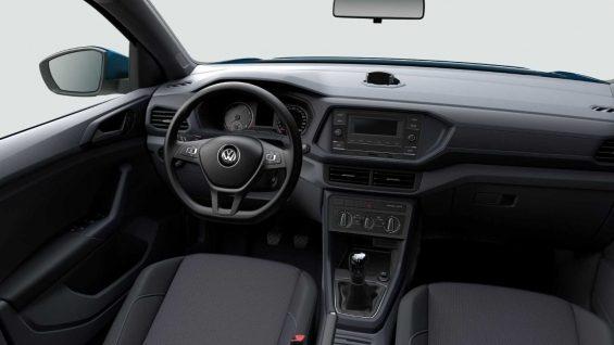 interior volkswagen t cross pcd 200 tsi at