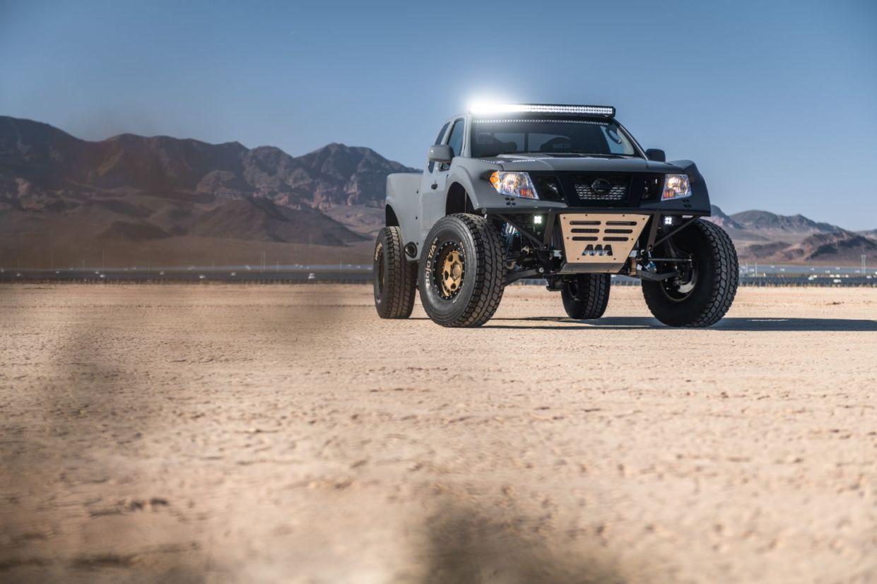 Confira a Nissan Frontier preparados para o SEMA Show. Evento é o maior do mundo em modificações automotivas.