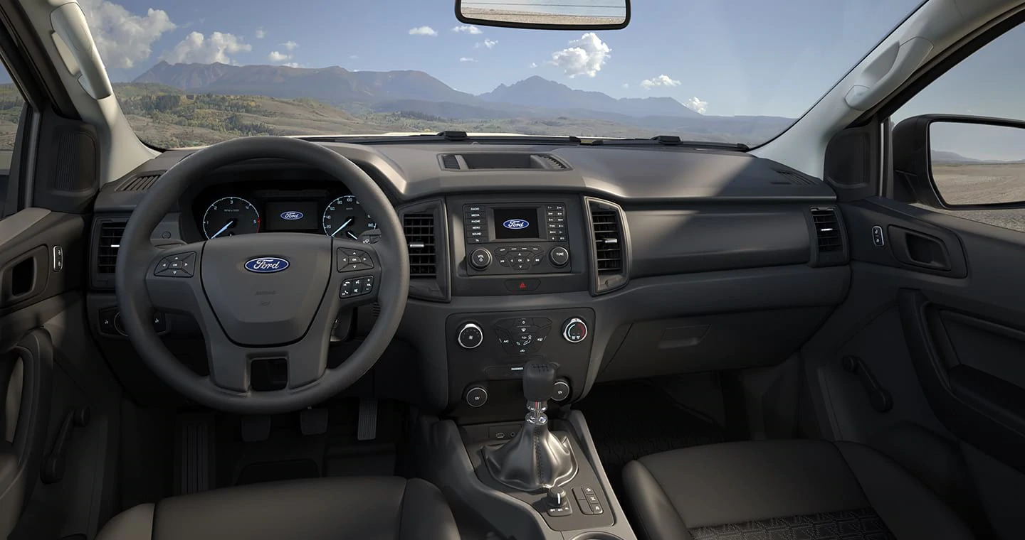 interior ford ranger xl 2020 cabine simples