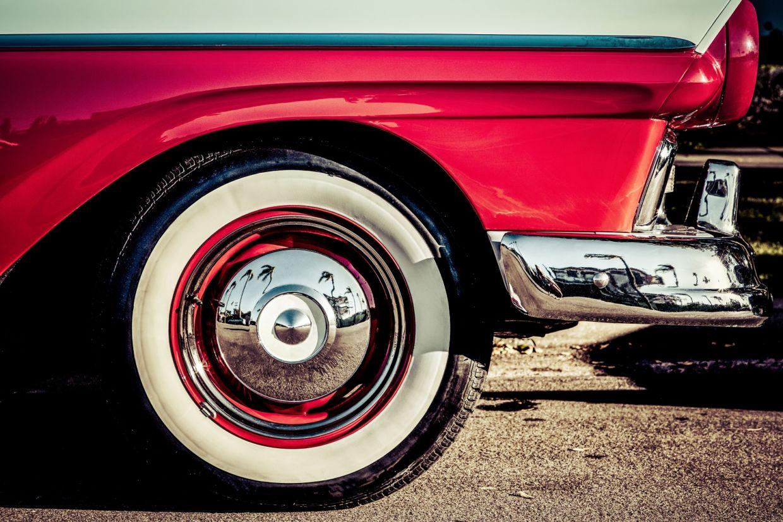 calota frente carro antigo