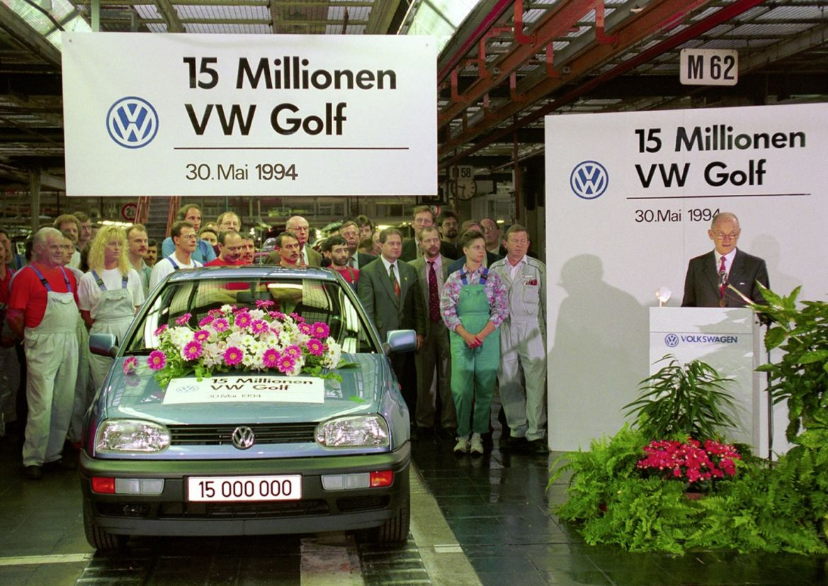 vw golf fabrica 1994