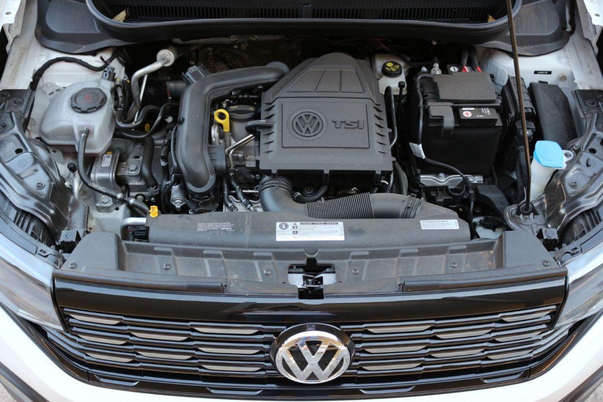 Motor 1.0 200 TSI que equipa o utilitário esportivo T-Cross da Volkswagen