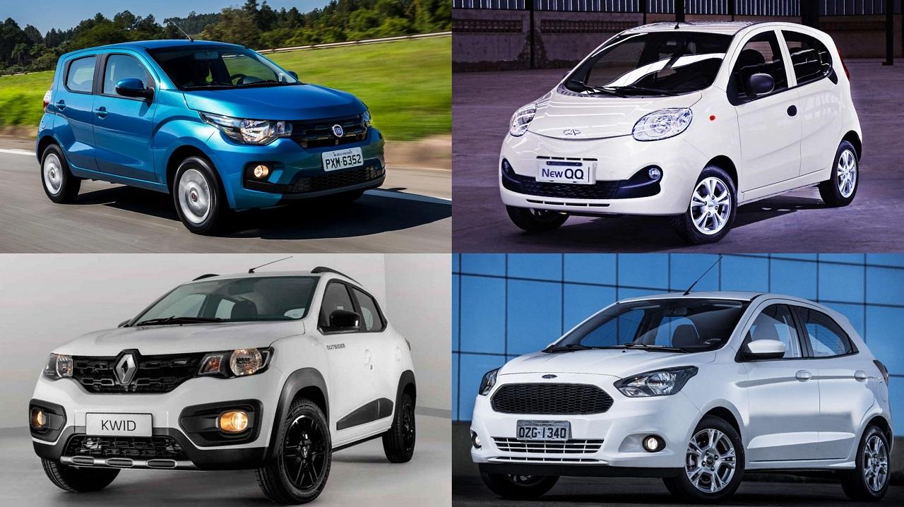 carros mais baratos brasil mobi kwid qq ka