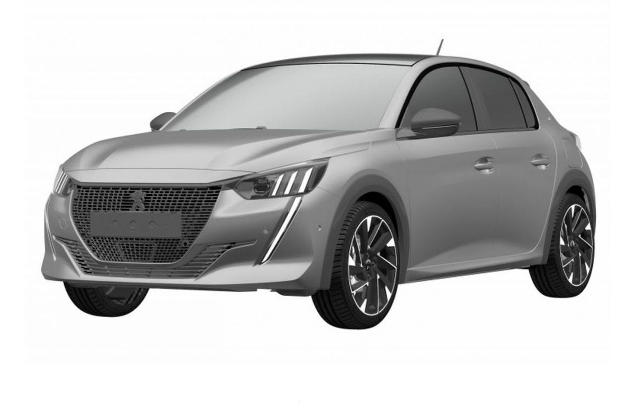 Novo Peugeot 208 foi registrado no INPI. Com lançamento marcado para 2020, hatch terá pelo menos duas versões de acabamento.