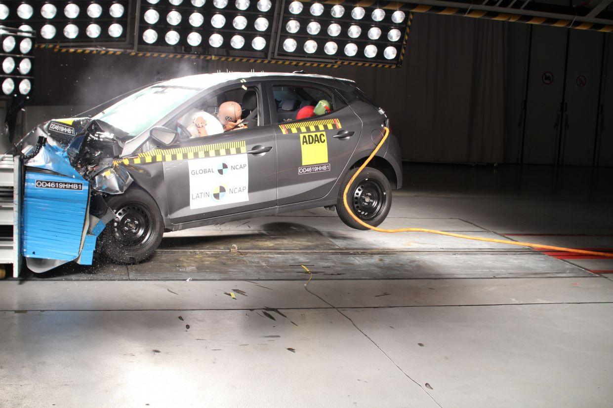 novo hyundai hb20 crash test seguranca latin ncap