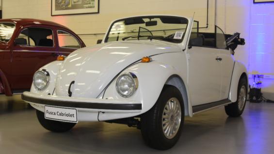 fusca conversivel 1993 no acervo da VW