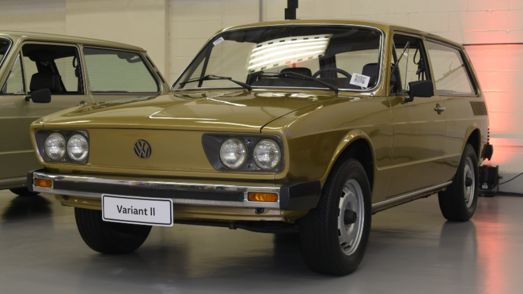garagem vw volkswagen variant ii 1980