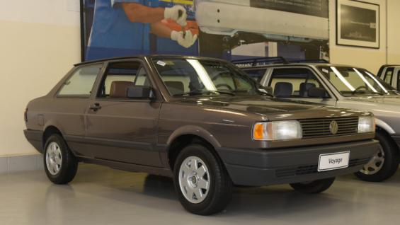 garagem vw volkswagen voyage gl 1995