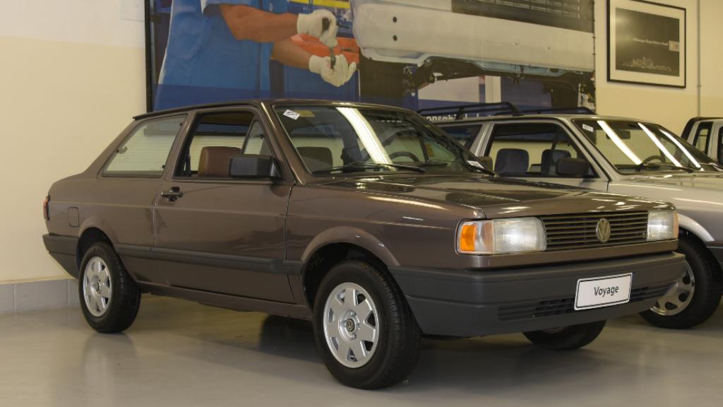 garagem-vw-volkswagen-voyage-gl-1995 Você sabia disso? Carros da Volkswagen clássicos estão em garagem secreta...
